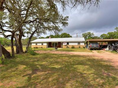 Burnet Single Family Home For Sale: 208 Steffey Ln