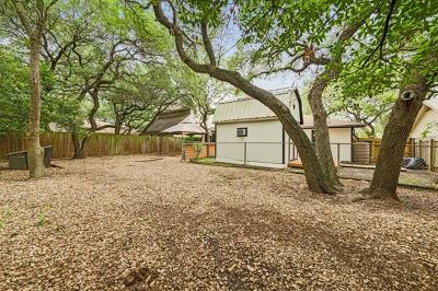 Round Rock Single Family Home For Sale: 3609 Hillrock Dr