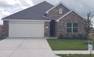 Manor Single Family Home For Sale: 13909 Arbor Hill Cv