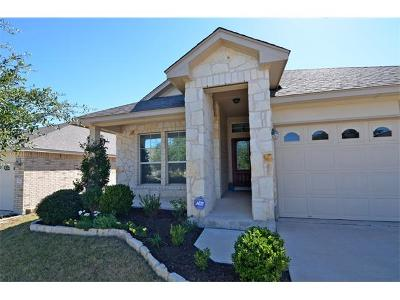 Cedar Park TX Single Family Home Pending - Taking Backups: $267,500