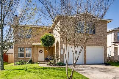 Pflugerville Single Family Home Pending - Taking Backups: 709 Black Isle Dr