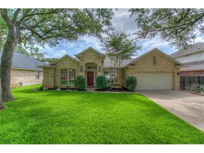 Cedar Park Single Family Home Pending - Taking Backups: 116 Oakmont Forest Dr