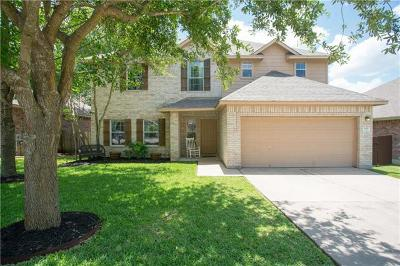 Leander Single Family Home For Sale: 505 Las Colinas Dr