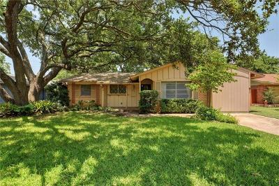 Travis County Single Family Home For Sale: 8310 Stillwood Ln
