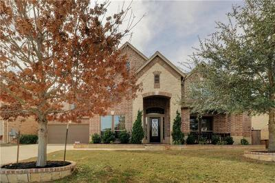 Leander Single Family Home For Sale: 2505 Quick Fort Dr