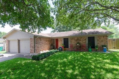 Taylor Single Family Home For Sale: 1603 Mallard Ln