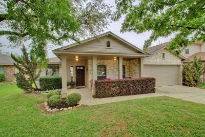 Round Rock Single Family Home For Sale: 4105 Whitecrest Cv