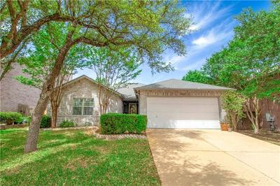 Cedar Park Single Family Home Pending - Taking Backups: 1001 Dogwood Trl