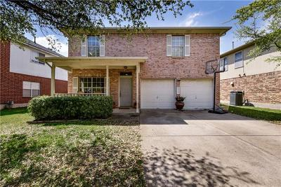 Round Rock Single Family Home For Sale: 3916 Eagles Nest St