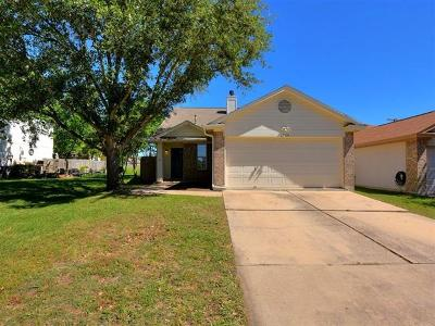 Pflugerville Single Family Home For Sale: 1724 Shire St