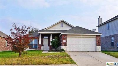 Killeen Single Family Home For Sale: 4213 Snowy River Dr