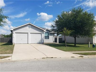 Hutto Single Family Home Pending - Taking Backups: 104 Quail Hollow Dr