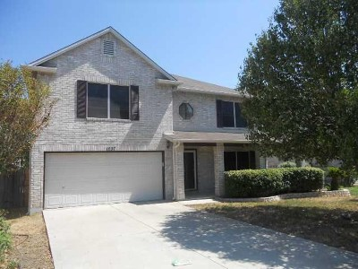 Cedar Park Single Family Home For Sale: 1037 Silverstone Ln