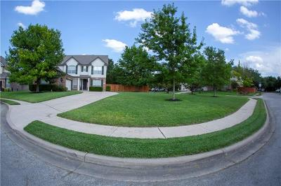 Round Rock Single Family Home For Sale: 2001 Homewood Cir