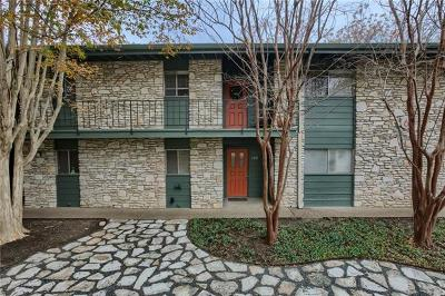 Travis County Condo/Townhouse For Sale: 1304 Mariposa Dr #163