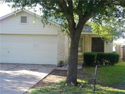 Pflugerville Single Family Home For Sale: 14320 Teacup Ln