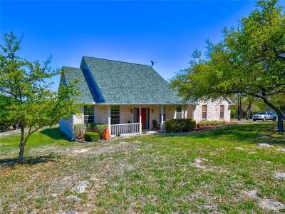 Spicewood Single Family Home For Sale: 3302 Crawford Rd