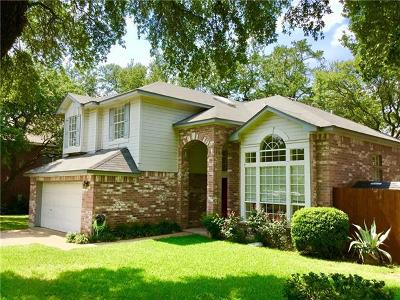 Cedar Park Single Family Home For Sale: 1218 Mesquite Rd