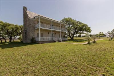 Salado Single Family Home For Sale: 14453 Settlements Rd