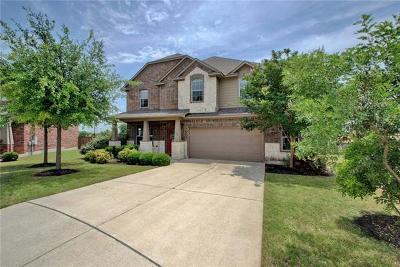 Round Rock Single Family Home For Sale: 224 Aspen Trl