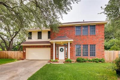 Round Rock Single Family Home For Sale: 3102 Willow Cv