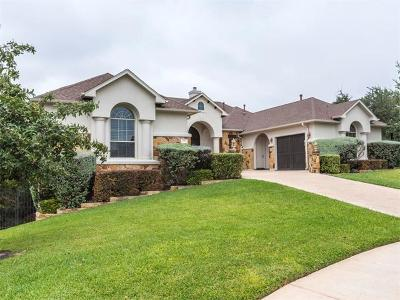 Round Rock Single Family Home For Sale: 709 Cliffside Cv