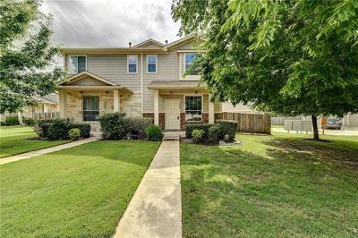 Pflugerville Condo/Townhouse For Sale: 908 Sebastian Bnd #B