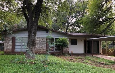 Austin Single Family Home For Sale: 305 Sheraton Ave