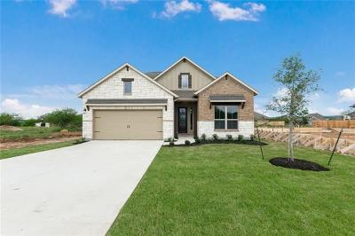 San Marcos Single Family Home For Sale: 124 Tulip Garden Trl