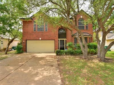 Cedar Park Single Family Home For Sale: 2513 Stenson Dr
