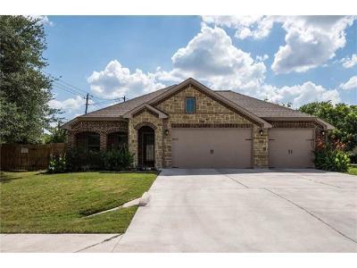 Travis County, Williamson County Single Family Home For Sale: 13100 Villa Park Dr