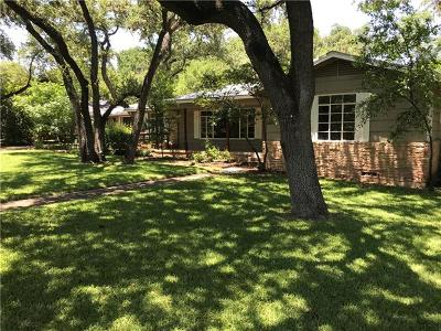 Austin Single Family Home For Sale: 3100 Perry Ln