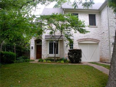 Austin Rental For Rent: 3805 Tonkawa Trl #A-1