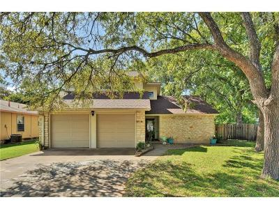 Round Rock Single Family Home Pending - Taking Backups: 1700 Saint Williams St