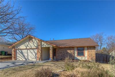 Round Rock Single Family Home For Sale: 800 Windsor Rd