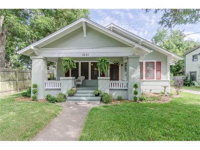 Taylor Single Family Home For Sale: 1221 Cecelia St