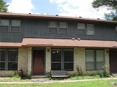 Travis County Condo/Townhouse For Sale: 1509 Camp Craft Rd #B