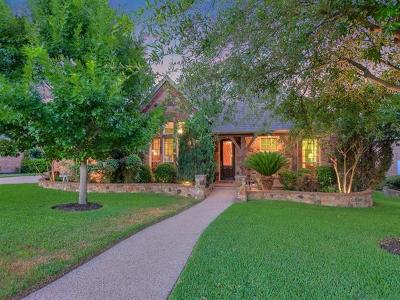 Round Rock Single Family Home For Sale: 1334 Pine Forest Cir