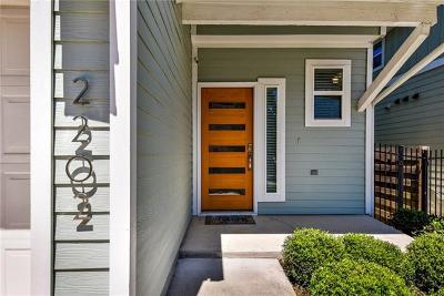 Austin Condo/Townhouse For Sale: 2202 Capulet St