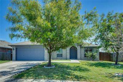 Hutto Single Family Home For Sale: 506 Carol Dr
