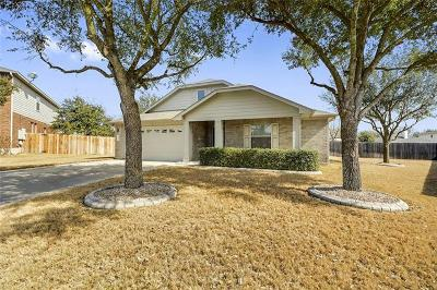 Round Rock Single Family Home Pending - Taking Backups: 3412 Captain Ladd Ct