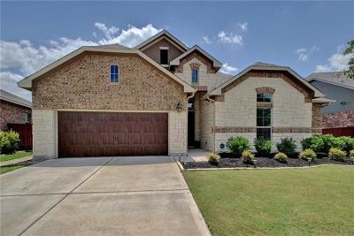 Round Rock Single Family Home For Sale: 2735 Mariposa Way