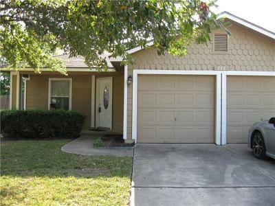 Hutto Single Family Home For Sale: 111 Quail Hollow Dr