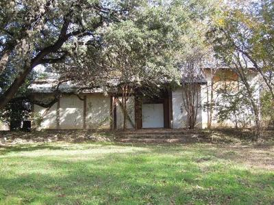 Round Rock Single Family Home For Sale: 501 S Mays St