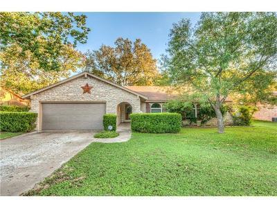 Cedar Park Single Family Home For Sale: 400 Monaco Dr