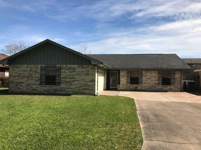 Port Arthur Single Family Home For Sale: 4200 Blackberry Ln