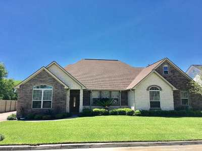 Port Arthur Single Family Home For Sale: 7909 Eyre Dr