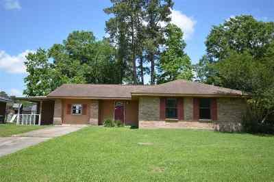 Vidor Single Family Home For Sale: 1055 Hickory