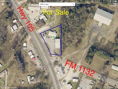 Vidor Commercial For Sale: 2610 N Main St