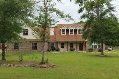 Kountze Single Family Home For Sale: 4742 Bryan Lane